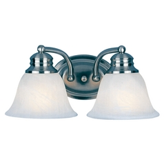 Maxim Lighting Malaga Satin Nickel Bathroom Light