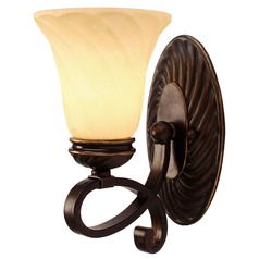 Golden Lighting Torbellino Cordoban Bronze Sconce
