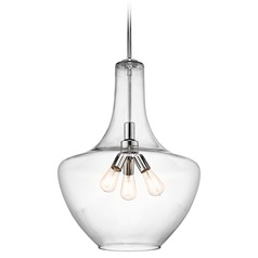 Kichler Lighting Everly Pendant Light with Bowl / Dome Shade