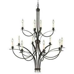 Modern Chandelier in Oil Rubbed Bronze Finish