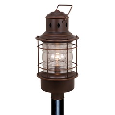 Hyannis Burnished Bronze Post Light by Vaxcel Lighting