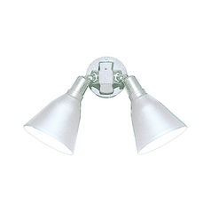 Progress Security Light in White Finish