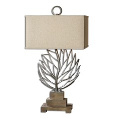 Uttermost Argento Metal Branches Table Lamp