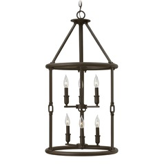 Hinkley Lighting Dakota Oil Rubbed Bronze Pendant Light