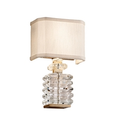 Corbett Lighting First Date Silver Leaf Sconce