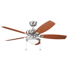 52-Inch 5 Blade LED Ceiling Fan with Light by Kichler Lighting