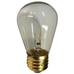 11-Watt Clear S14 Light Bulb 2700K