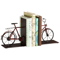 Cyan Design Pedal Multi Colored Bookend