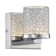 Lite Source Chrome LED Sconce
