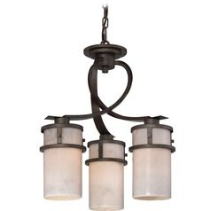 Quoizel Lighting Kyle Iron Gate Mini-Chandelier