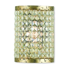 Livex Lighting Grammercy Hand Applied Winter Gold Sconce
