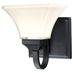 Single Light Sconce Black by Minka Lavery
