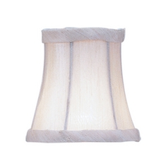 Livex Lighting S251 Champagne Bell Lamp Shade with Clip-On Assembly