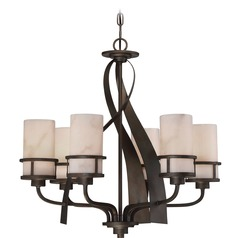 Quoizel Lighting Kyle Iron Gate Chandelier