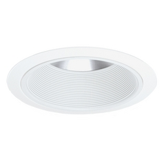 White Conical Economy Trim for 6-Inch Recessed Housing
