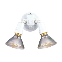 Progress Modern Security Light in White Finish