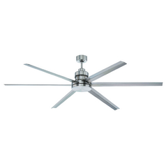 Craftmade Lighting Mondo Brushed Polished Nickel Ceiling Fan Without Light