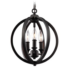 Feiss Lighting Corinne Oil Rubbed Bronze Pendant Light
