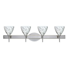 Besa Lighting Mia Chrome LED Bathroom Light