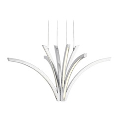 Elan Lighting Zara Chrome LED Pendant Light