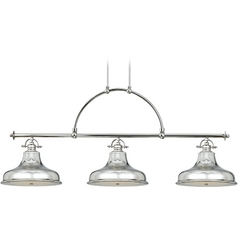 Nautical Chandelier in Imperial Silver Finish