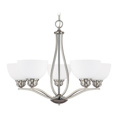 Capital Lighting Stanton Brushed Nickel Chandelier