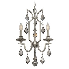 Savoy House Lighting Ballard Polished Nickel Mini-Chandelier