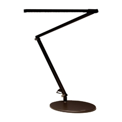 Adjustable LED Desk Lamp in Black Finish