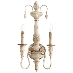 Quorum Lighting Salento Persian White Sconce
