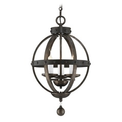 Savoy House Reclaimed Wood Pendant Light