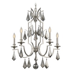 Savoy House Lighting Ballard Polished Nickel Chandelier