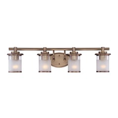 Designers Fountain Essense Old Satin Brass Bathroom Light