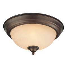 Craftmade Oiled Bronze Flushmount Light