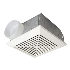 Craftmade Lighting Builder Series Designer White Exhaust Fan Only