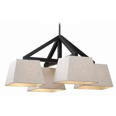 Kenroy Home Intersect Oil Rubbed Bronze Chandelier