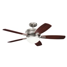 52-Inch 5 Blade LED Ceiling Fan with Antique Pewter by Kichler Lighting