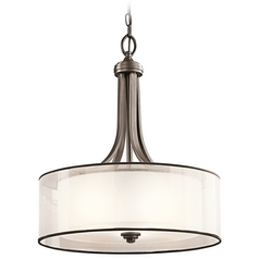 Kichler 20-Inch Double Drum Pendant Shade