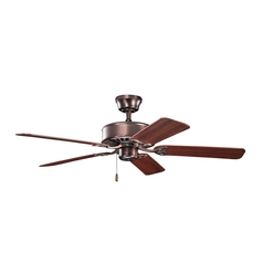 Kichler Lighting Renew Oil Brushed Bronze Ceiling Fan Without Light