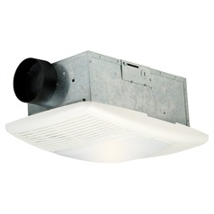 Craftmade Lighting Designer White Exhaust Fan with Heat and Light