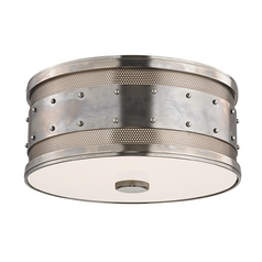 Hudson Valley Lighting Gaines Historic Nickel Flushmount Light