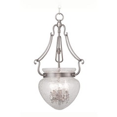 Livex Lighting Duchess Brushed Nickel Pendant Light