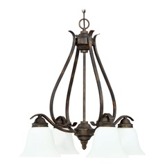 Craftmade Lighting Mckinney Burleson Bronze Chandelier