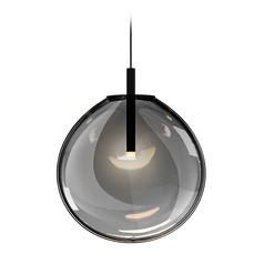 Black LED Pendant Light by Sonneman Lighting