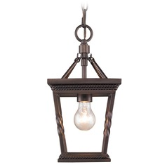 Golden Lighting Davenport Etruscan Bronze Mini-Pendant Light