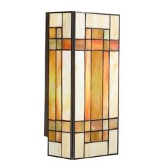 Kichler Tiffany Craftsman Style Wall Sconce