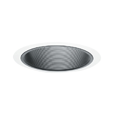 Tapered Black Baffle For 6-Inch Recessed Housings
