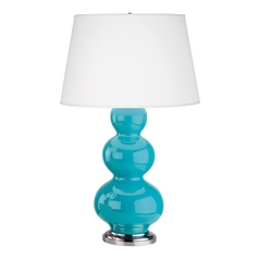 Robert Abbey Triple Gourd Table Lamp