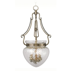 Livex Lighting Duchess Antique Brass Pendant Light