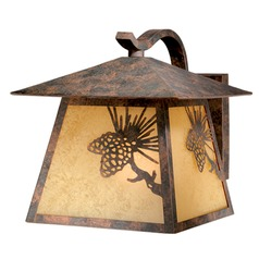Whitebark Olde World Patina Outdoor Wall Light by Vaxcel Lighting