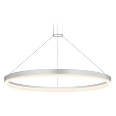 Sonneman Lighting Modern LED Pendant Light in Aluminum Finish 2317.16